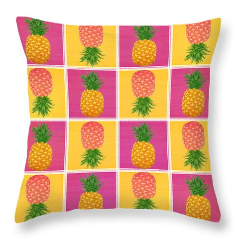 Pineapple Crush - Throw Pillow