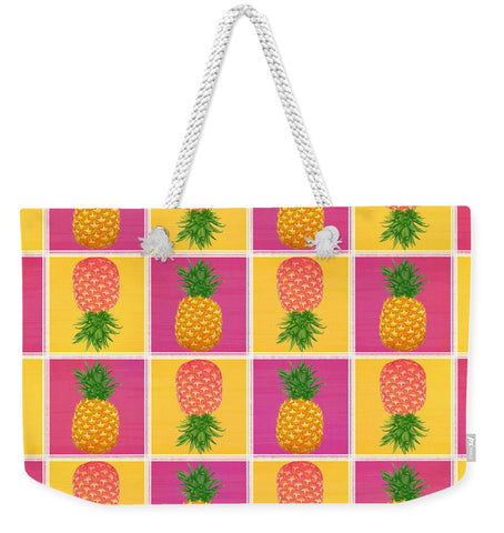 Pineapple Crush - Weekender Tote Bag