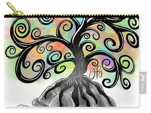 Tree of Life - Inktober - Carry-All Pouch