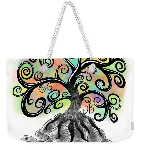 Tree of Life - Inktober - Weekender Tote Bag