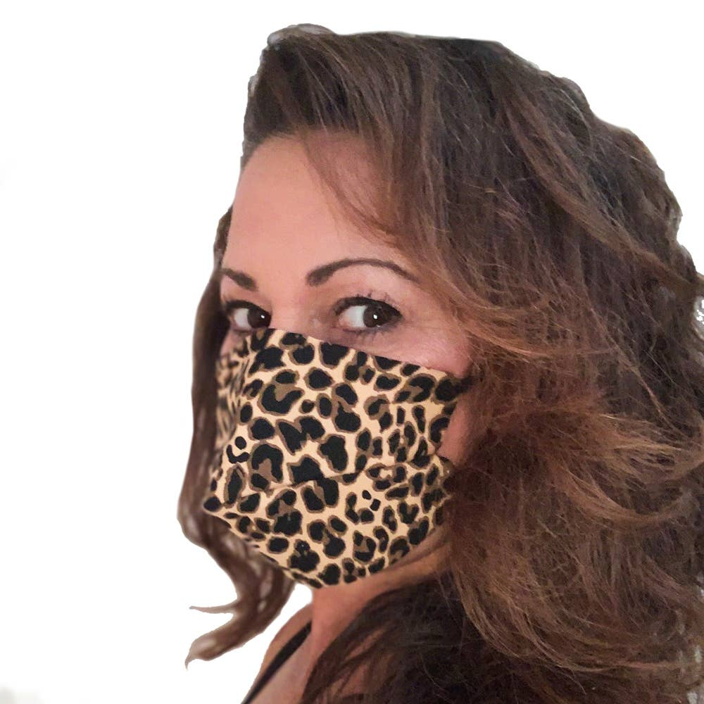Leopard Women's Face Mask