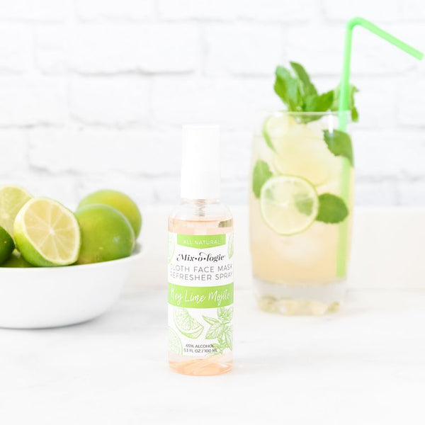 Mixologie Face Mask Refresher Spray - Key Lime Mojito Scent