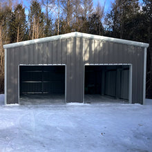 Load image into Gallery viewer, 25 x 30 x 10 Steel Building Kit