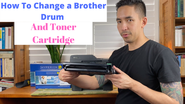 Brother Printer Support - How To Install Your Brother Laser Toner Cartridge And Drum Unit Video