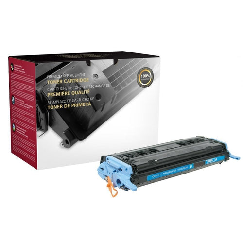Cyan Toner Cartridge for HP Q6001A (HP 124A)