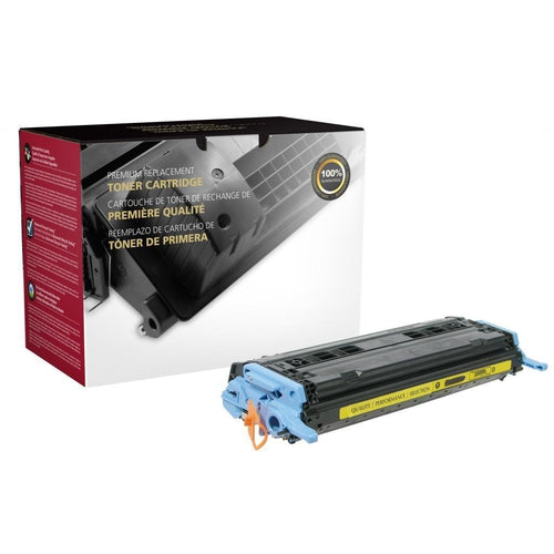 Yellow Toner Cartridge for HP Q6002A (HP 124A)