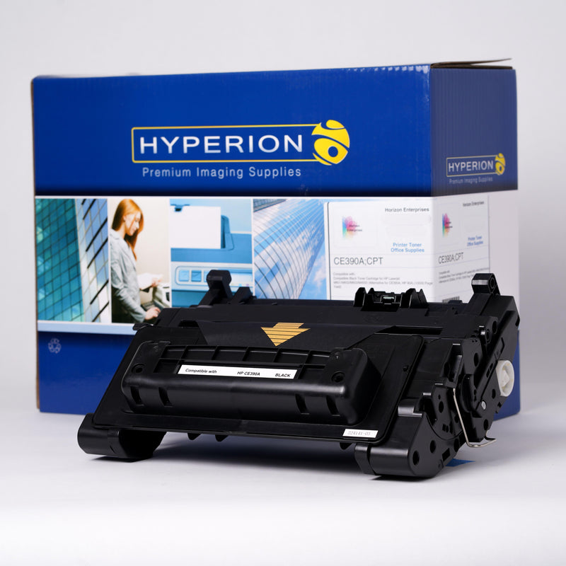 CE390A Hyperion Compatible Replacement Toner Cartridge - Horizon Ink