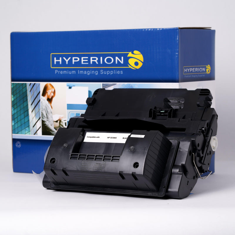 CE390X Hyperion Compatible Replacement Printer Toner Cartridge - Horizon Ink