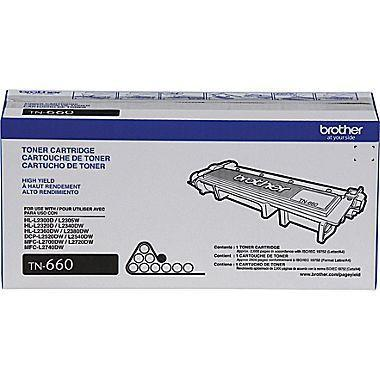 TN660 Brother High Yield Black Toner Cartridge - Horizon Ink