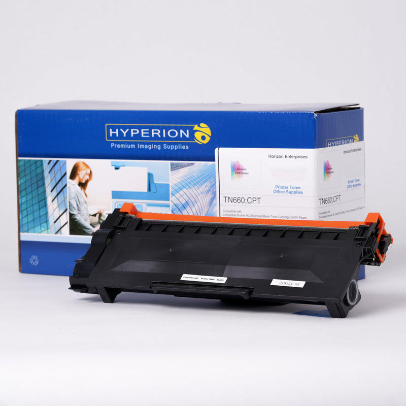 TN660 Hyperion Compatible Replacement Laser Toner Cartridge - Horizon Ink
