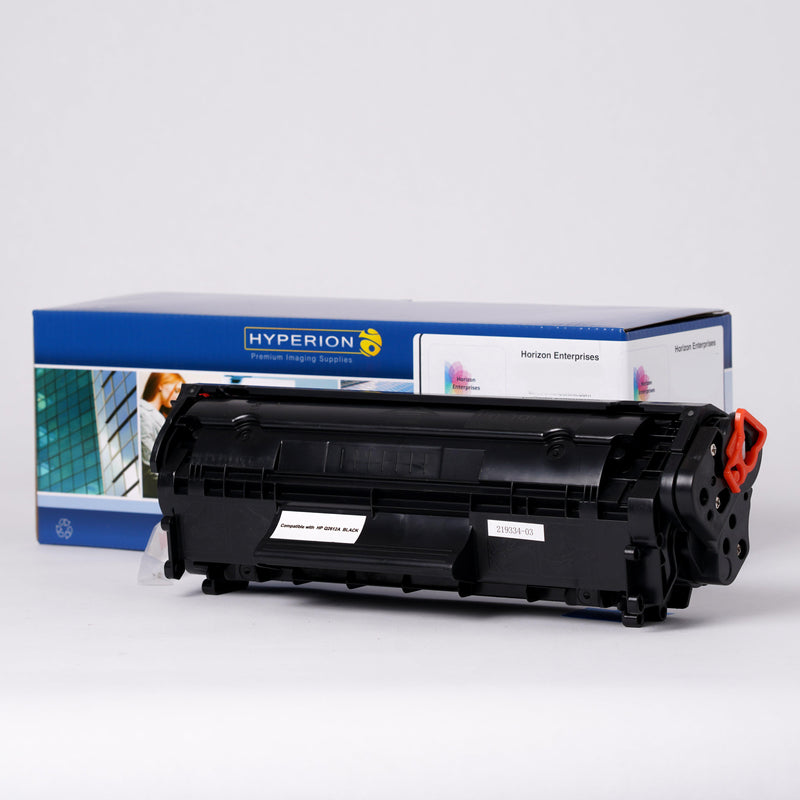 Q2612A Hyperion Compatible Replacement Printer Toner Cartridge - Horizon Ink