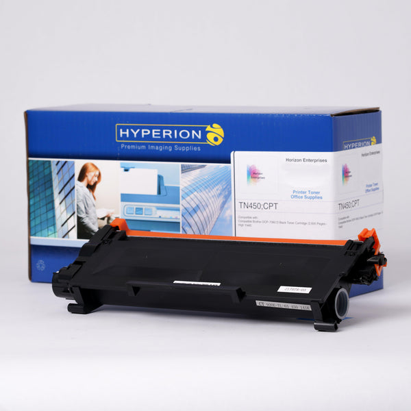 TN450 Hyperion Compatible Replacement Toner for Brother - Horizon Ink