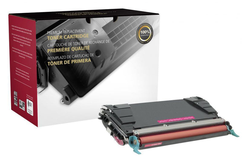 High Yield Magenta Toner Cartridge for Lexmark C520/C522/C524/C534