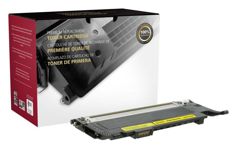Yellow Toner Cartridge for Samsung CLT-Y407S