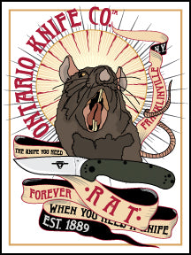 RAT® Forever Sticker. 2020.