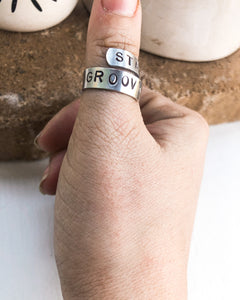 Stay Groovy Ring
