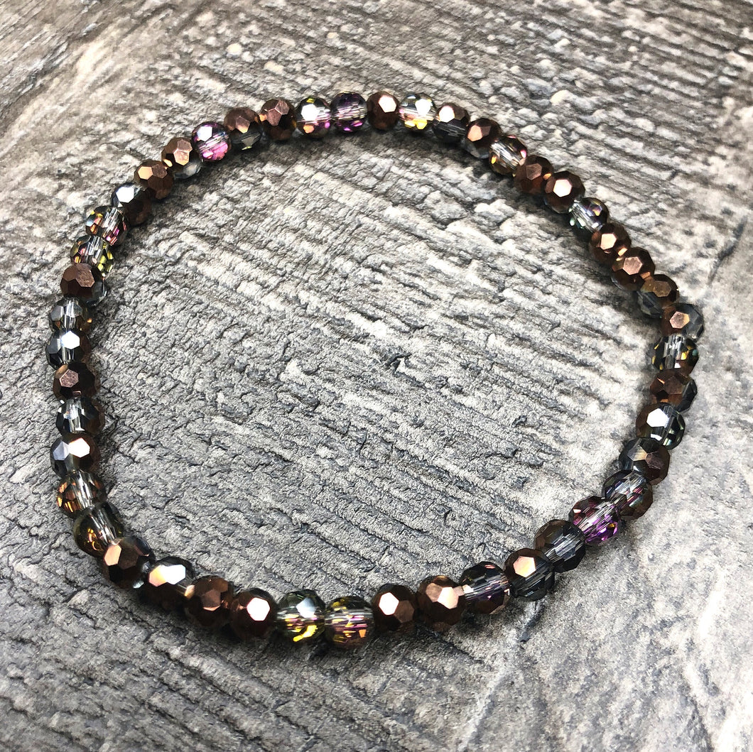 Iridescent Brown Bracelet