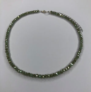 Light Green Choker
