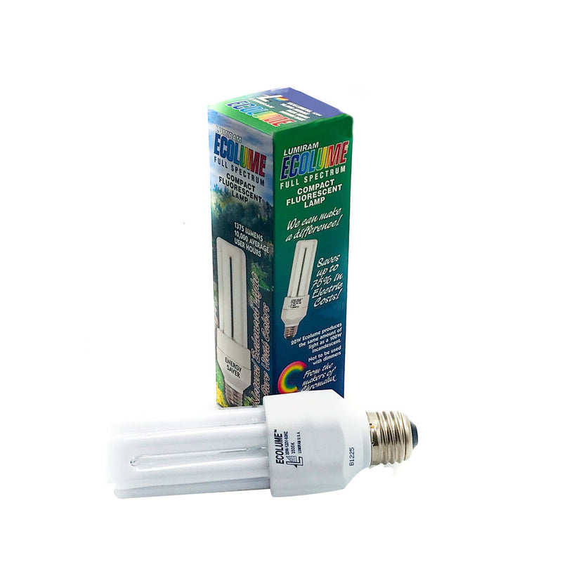 Ecolume Full Spectrum CFL 20W 3500K