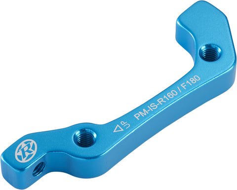 REVERSE Disc-Brake-Adapter IS-PM 180 VR+160 HR (Light-Blue) - GiraSykkel