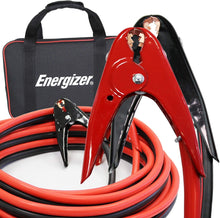 Load image into Gallery viewer, Energizer 2 Gauge 800A Heavy Duty Jumper Battery Cables 16 Ft Booster Jump Start