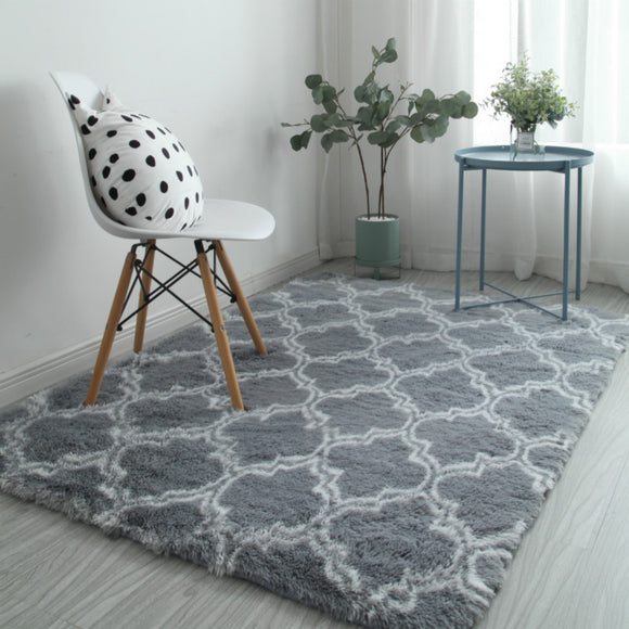 Modern Plush Big Floor Carpet