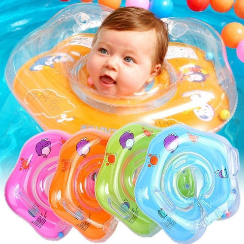 Preself Upgraded Baby Float Non-Inflatable Mambobaby Swim Ring, Infant Soft Solid Swimming Trainer, Baby Pool Float with Removable