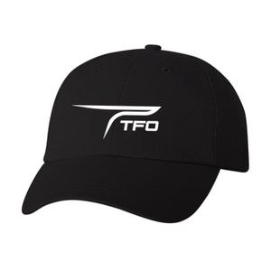 TFO Dad Cap (Black)