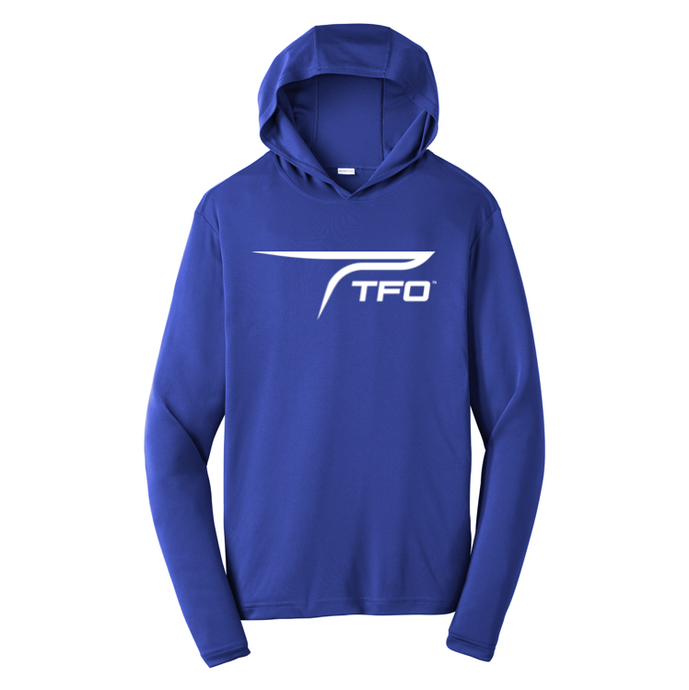 TFO Hooded Performance Shirt (Blue)