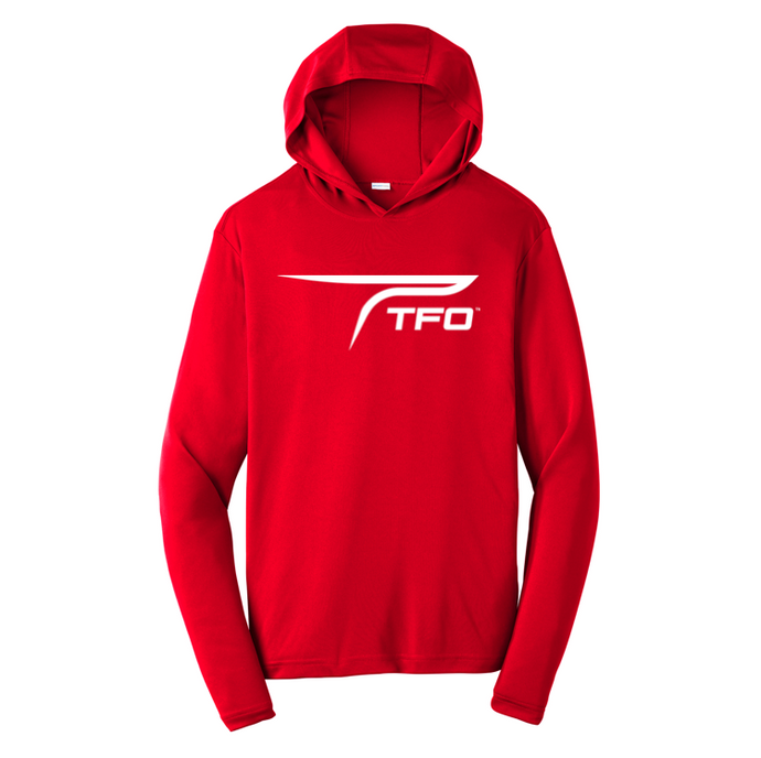 TFO Hooded Performance Shirt (Red)