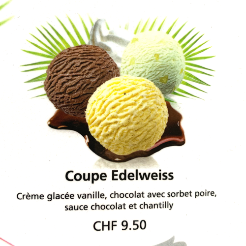 Coupe Edelweiss - OrderNow