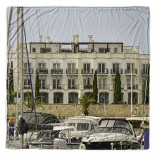 Load image into Gallery viewer, Vilamoura Marina Throw Blanket