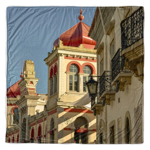 Loule's Municipal Market Throw Blanket