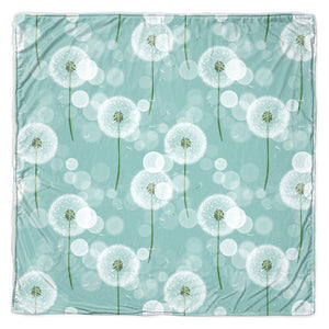 Dandelion Wish Throw Blanket