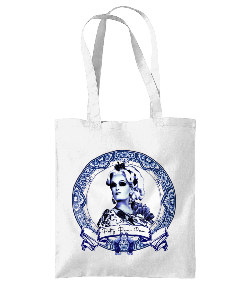 Patty Pam-Pam - Delft Blue Tote Bag