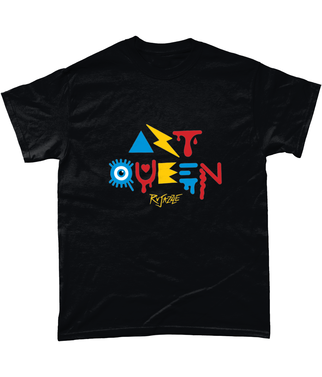 Rujazzle - Art Queen T-Shirt - SNATCHED