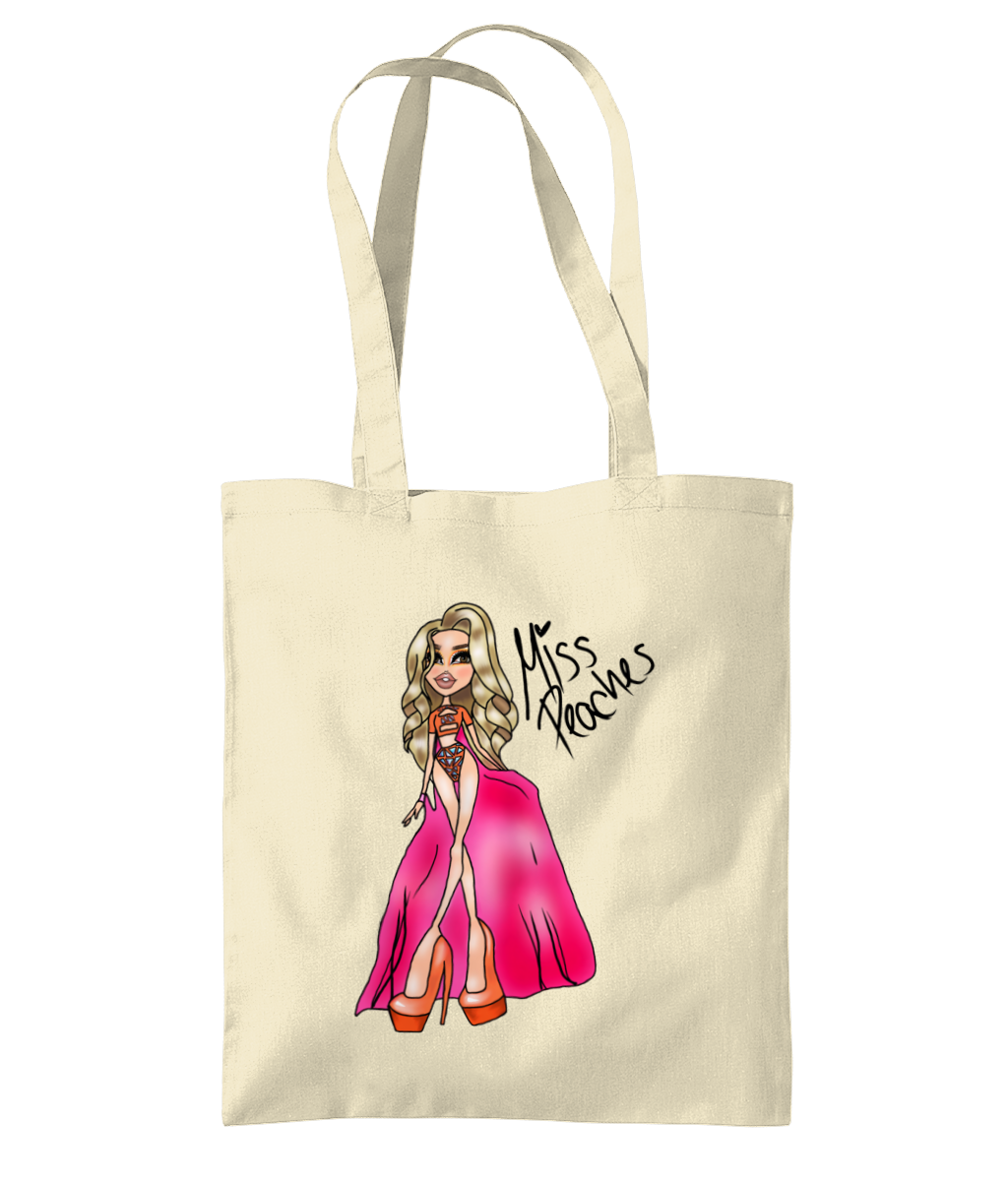 Miss Peaches - Bratz Style Tote Bag - SNATCHED