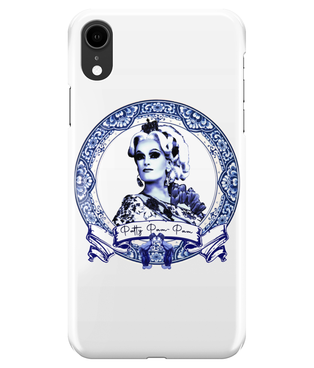 Patty Pam-Pam - Delft Blue Phone Case