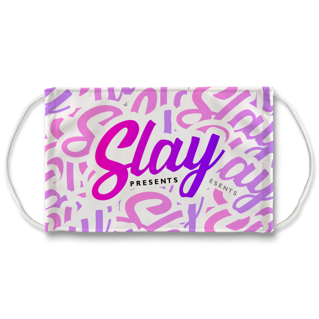 Slay! Presents Pink Face Mask - SNATCHED MERCH