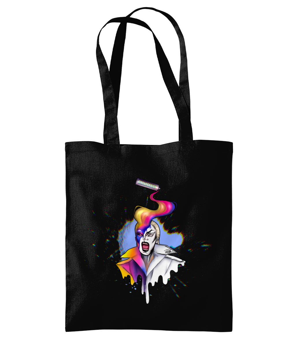 ChelseaBoy - Spray Paint Tote Bag