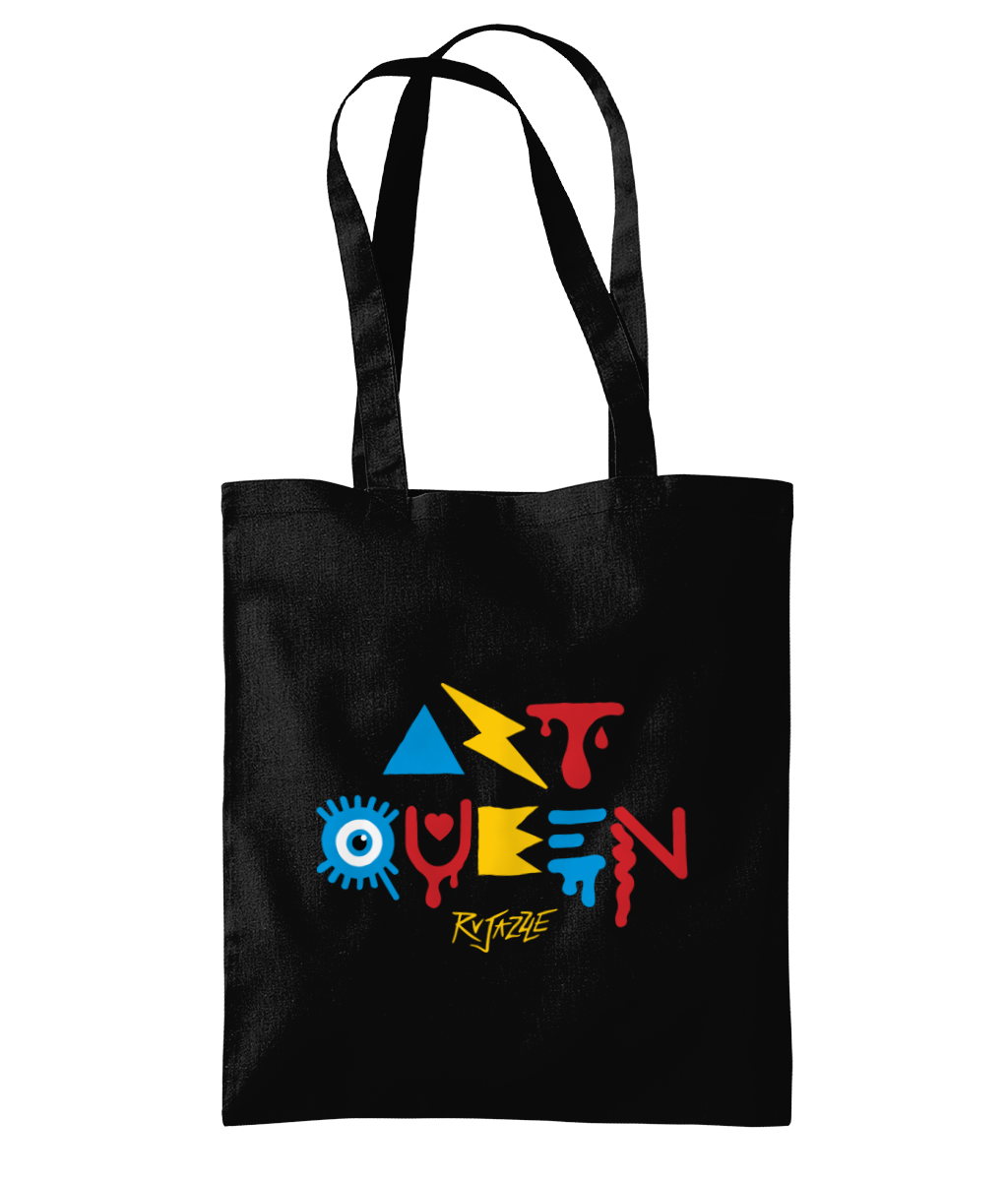 Rujazzle - Art Queen Tote Bag - SNATCHED