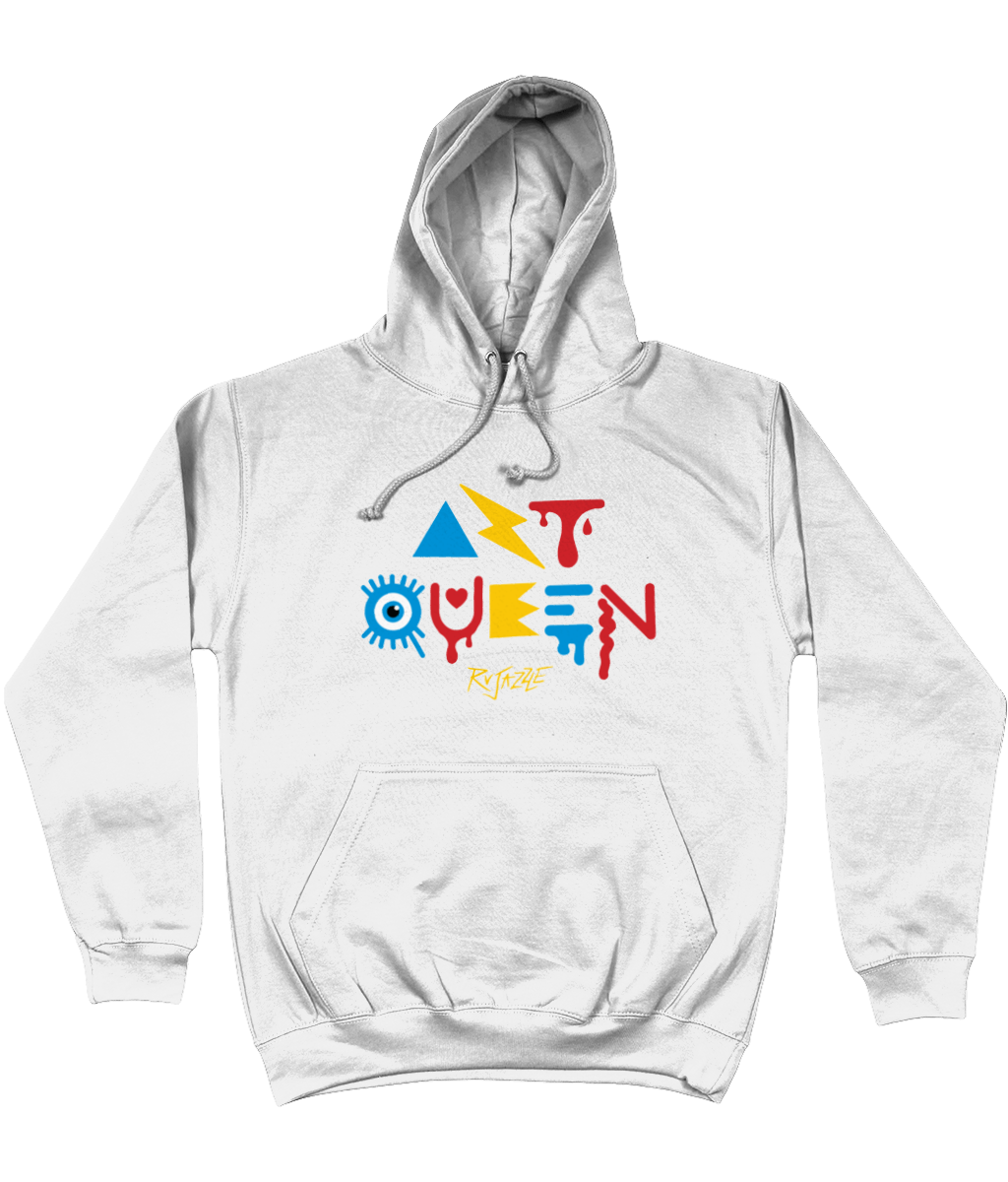 Rujazzle - Art Queen Hoodie - SNATCHED