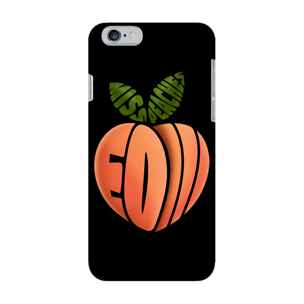 Miss Peaches - EOI Black Phone Case - SNATCHED