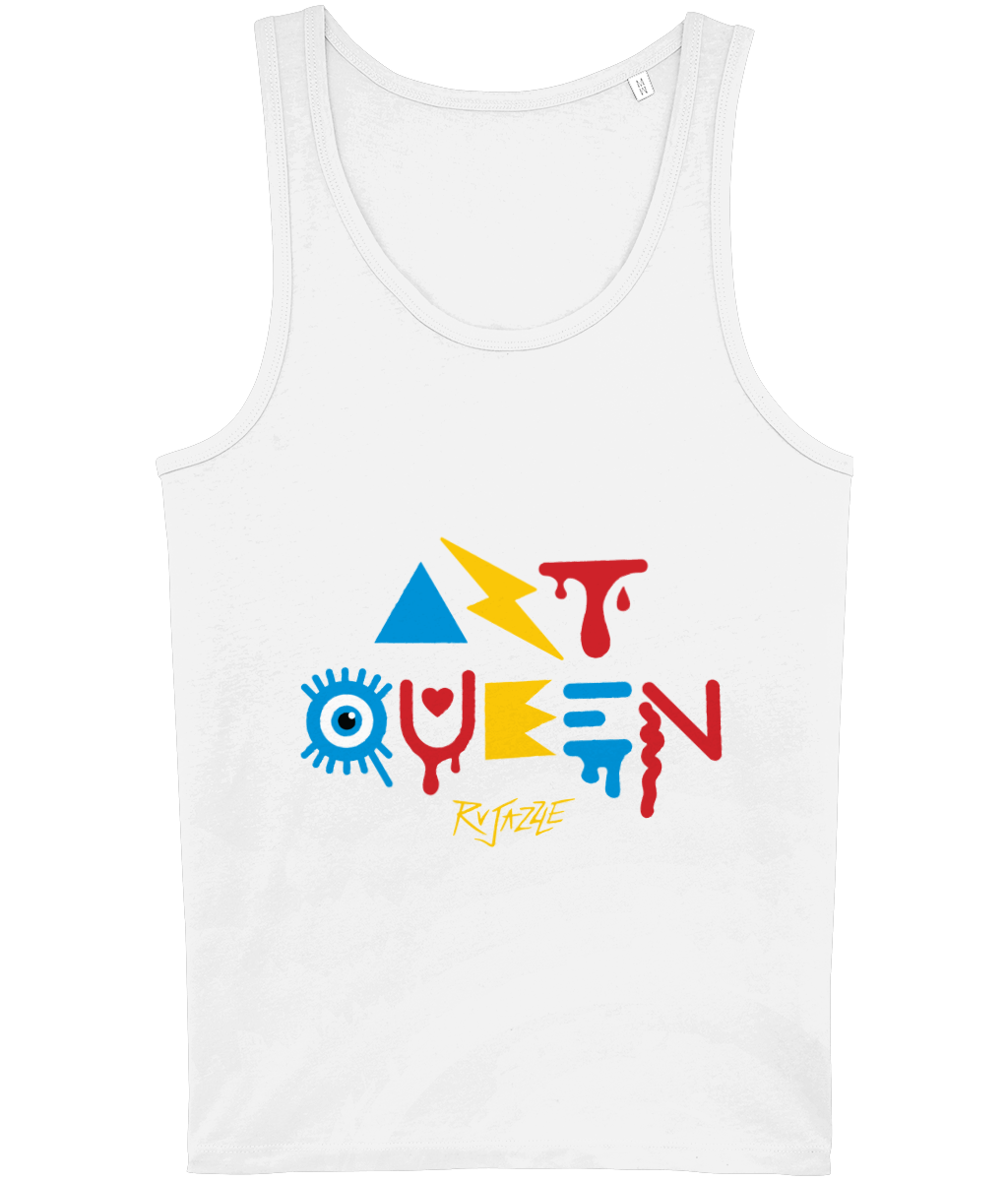 Rujazzle - Art Queen Vest - SNATCHED