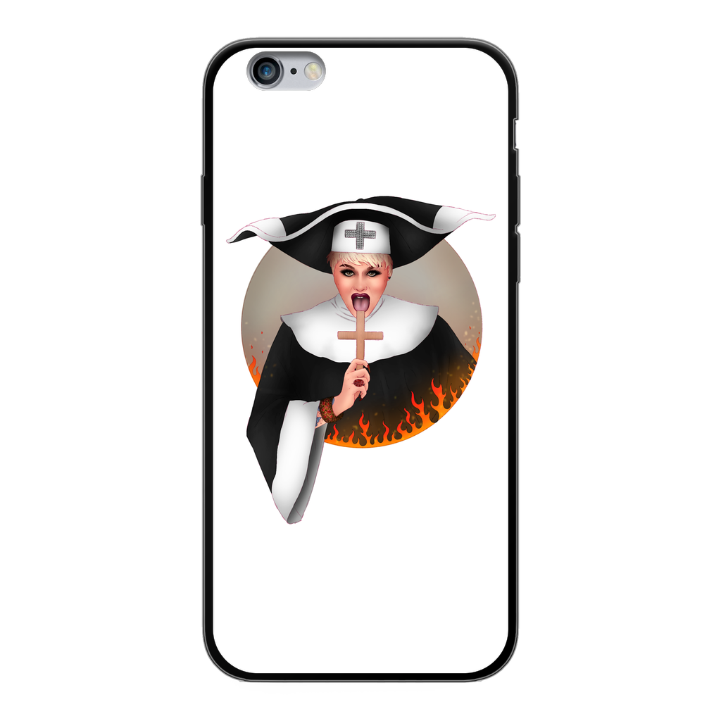Megan Schoonbrood - White Phone Case