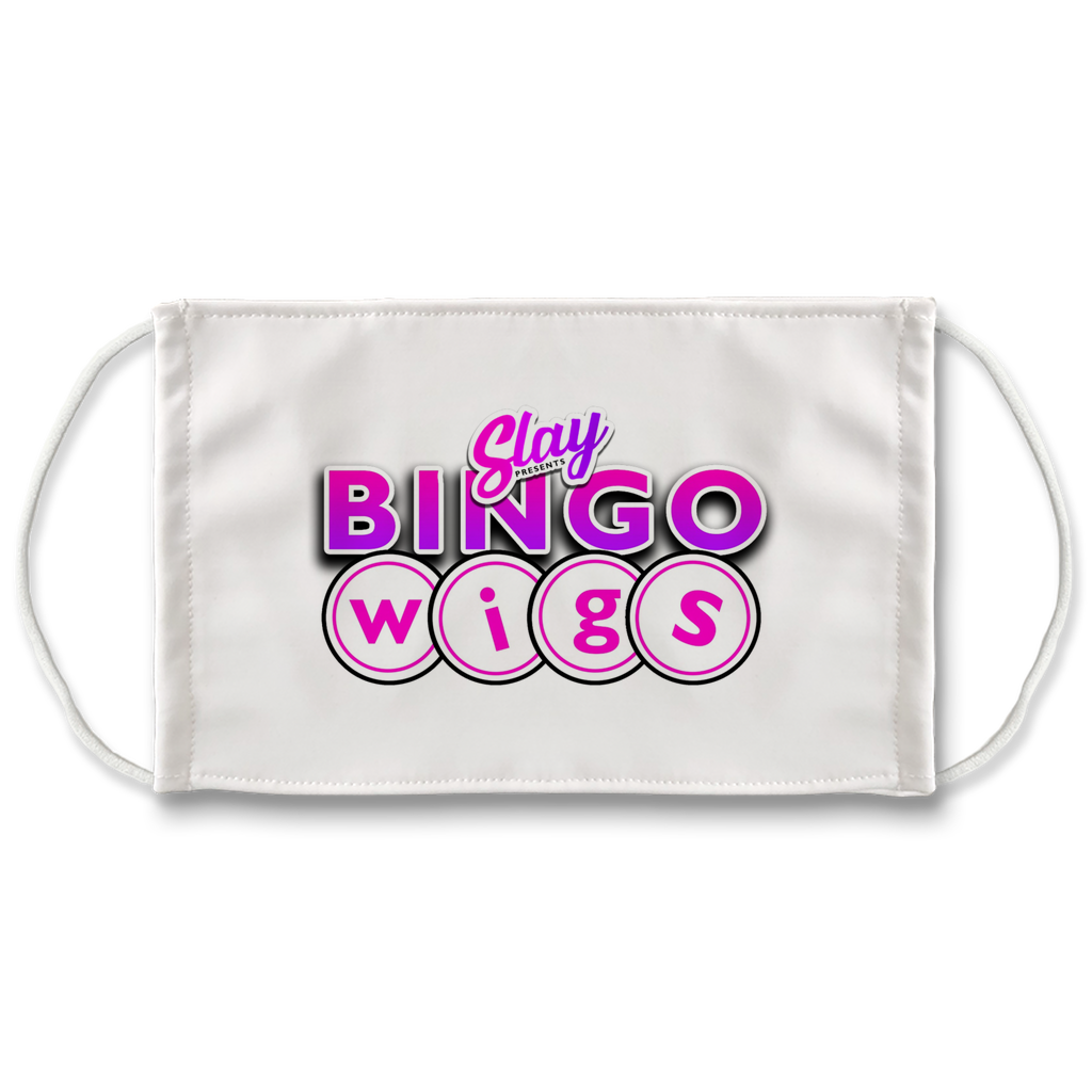 Bingo Wigs Face Mask - SNATCHED MERCH