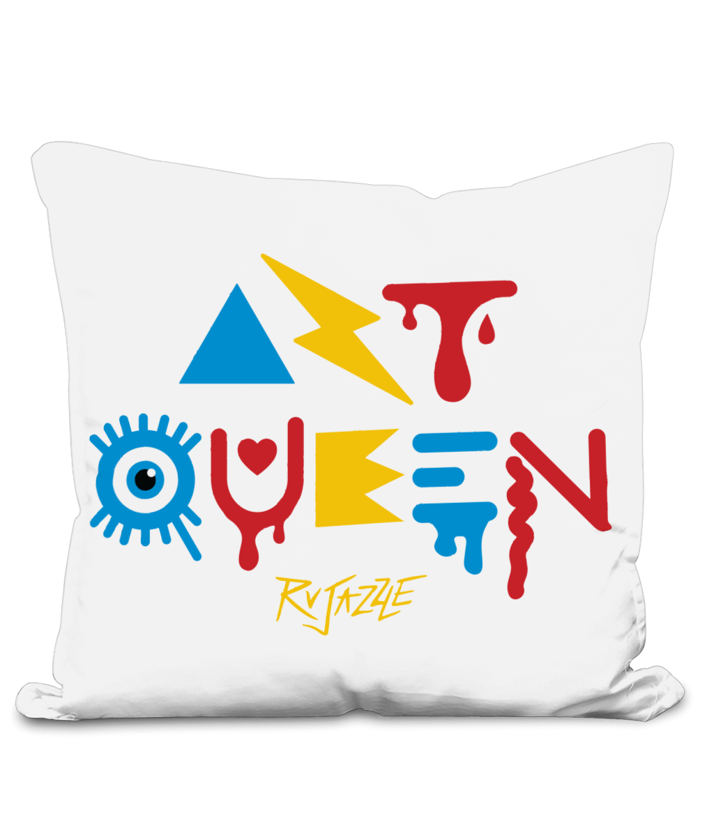 Rujazzle - Art Queen Cushion Cover - SNATCHED