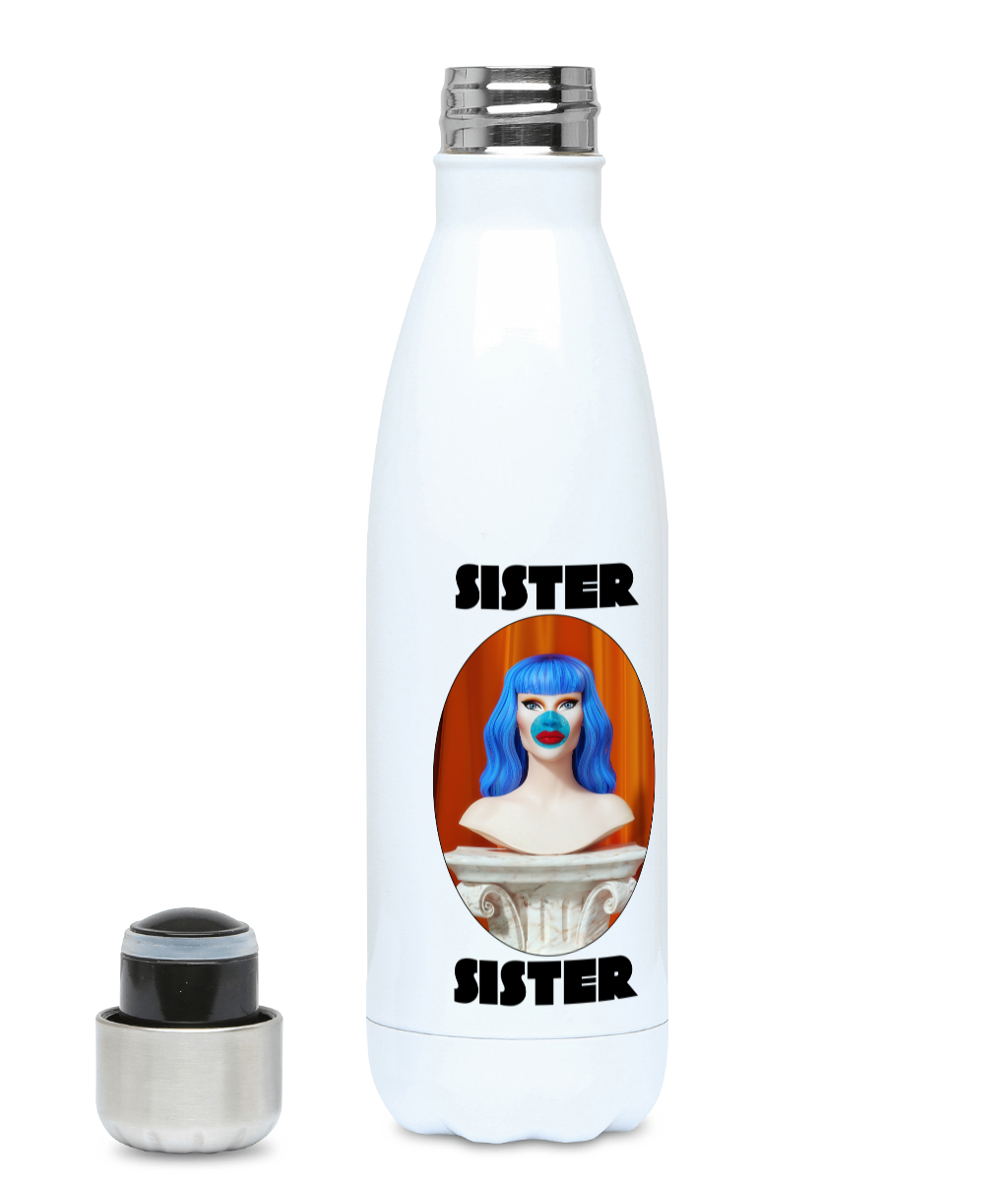 Sister Sister - Bust Water Bottle