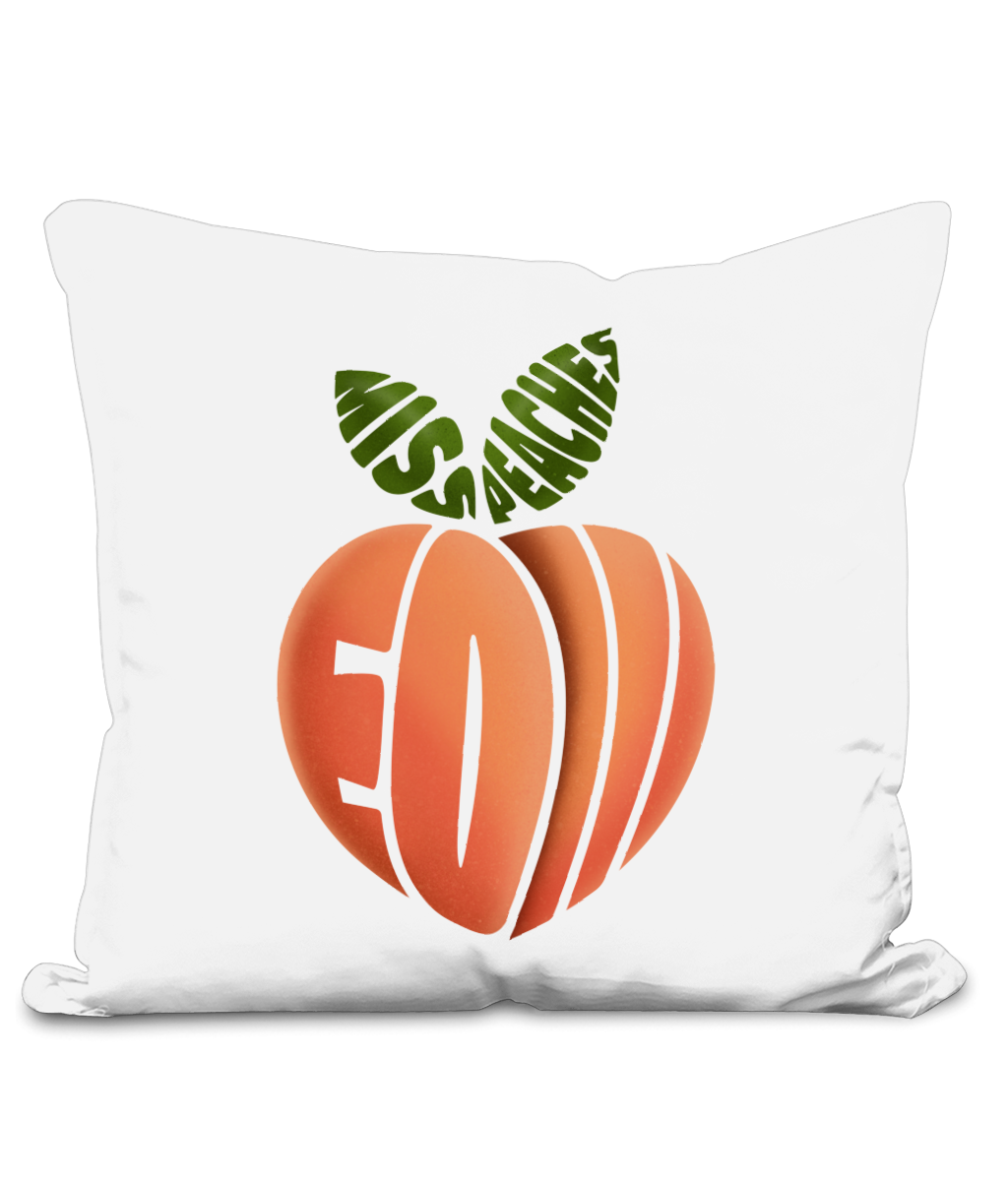 Miss Peaches - EOI Cushion Cover - SNATCHED