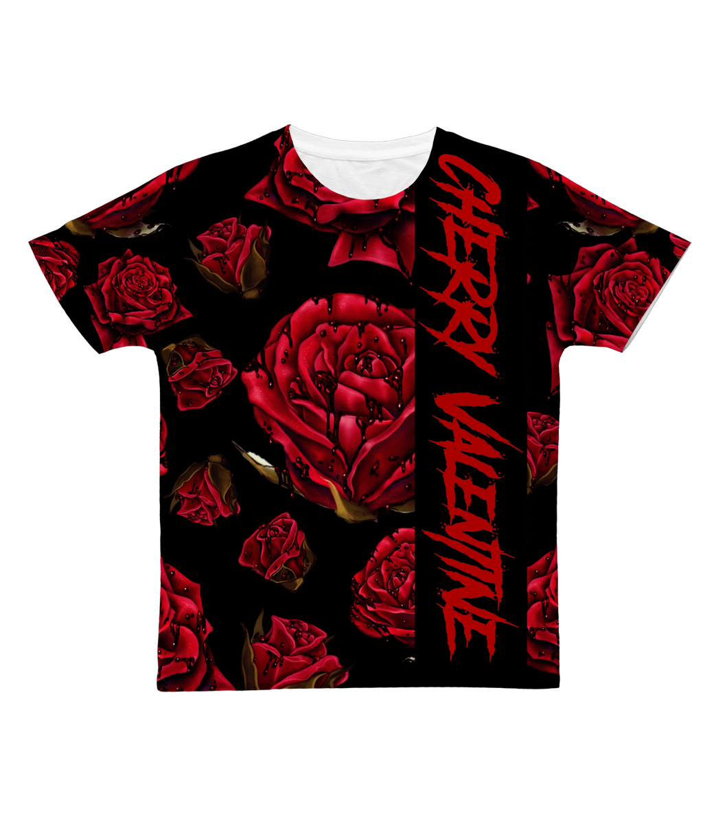 Cherry Valentine - Rose Blood Sublimation T-Shirt